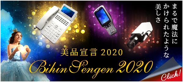 BIHIN SENGEN 2020 まるで魔法にかけられたような美しさ