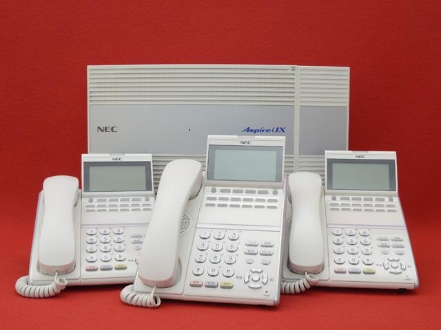 NEC AspireUXセット(12D 3台 2INS)