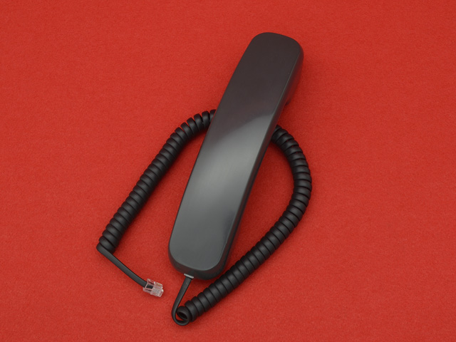 SAXA PG308DS2用受話器(黒)
