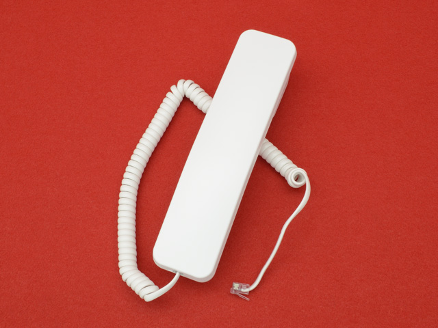 SAXA TD810用受話器(白)