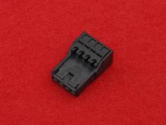 4芯クイックコネクタ黒色 汎用品(1個)