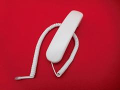 NTT クローバーホンS用受話器(白)