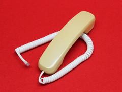 SAXA PG308DS2/PD2用受話器(白)