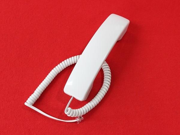 NTT RX2/MBS/GX1/IX2シリーズ用受話器(白)