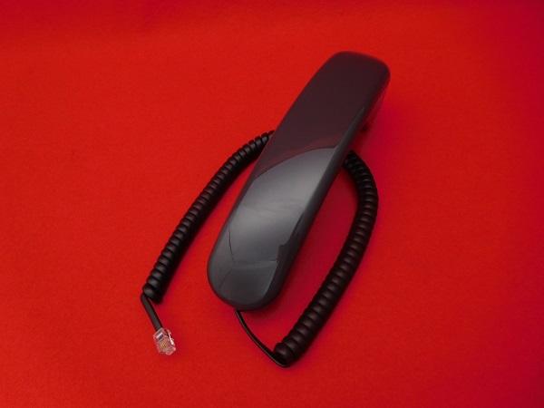 NTT クローバーホンS-タテ用受話器(黒)