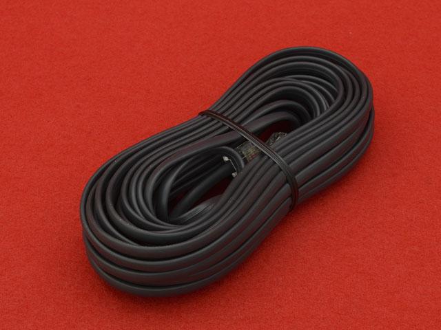 機ヒモ(4芯)(平線)(黒)(10m)